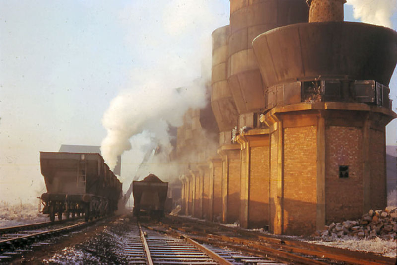 Giant Smelting Towers Image courtesy of A. Pack