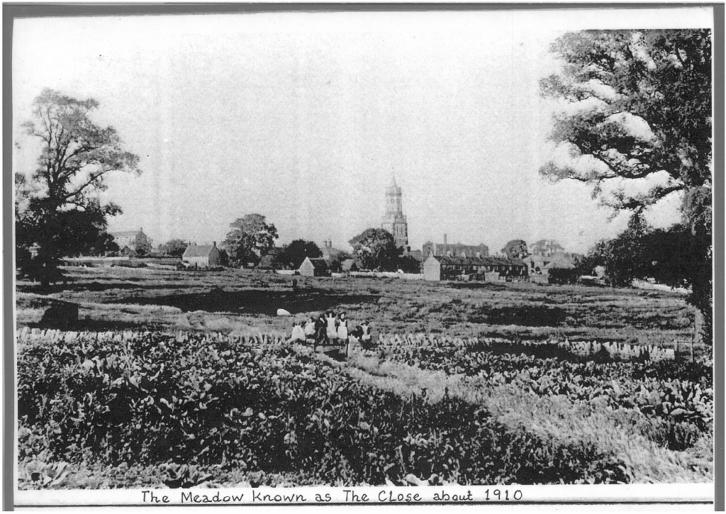 St Peter's Church 1910 Image courtesy of Irthlingborough Historical Society