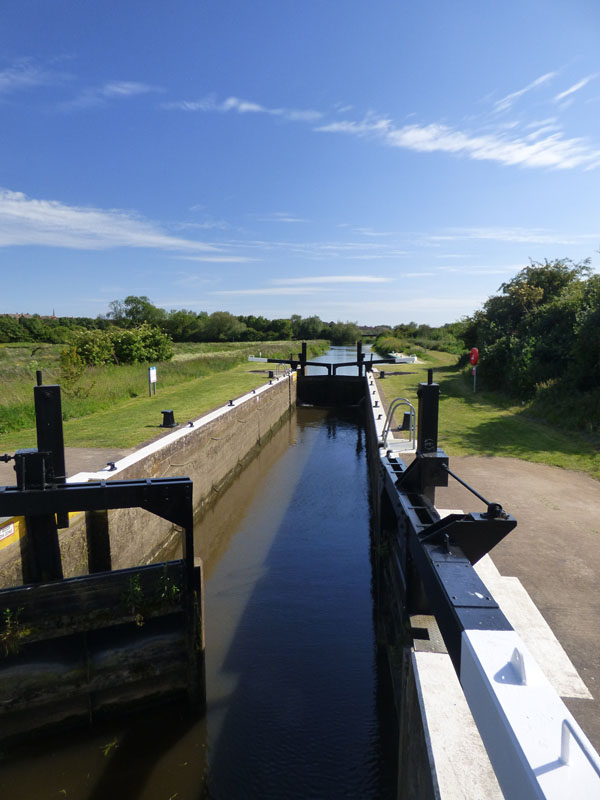 The Higham Ferrers Lock Image courtesy of Katie King