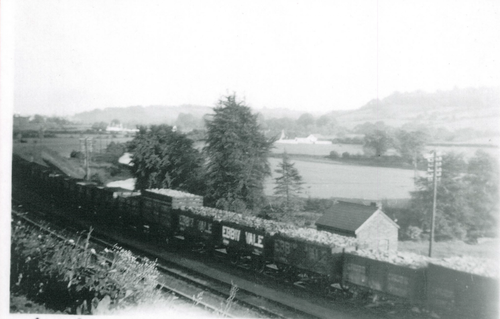 Railway Wagons Photo courtesy of Irthlingborough Historical Society